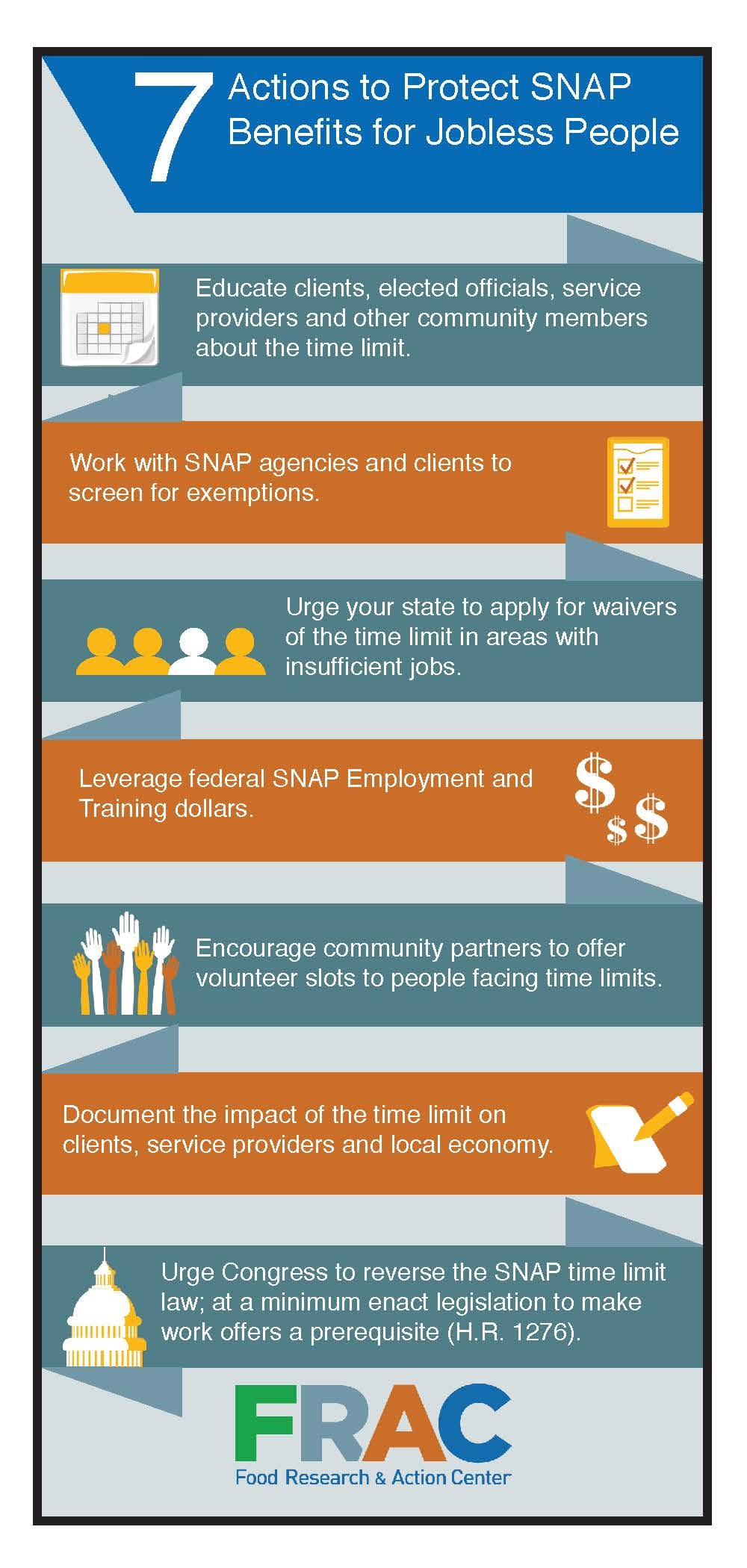 7 Actions To Protect SNAP Benefits For Jobless People