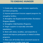 A Plan of Action to End Hunger in America