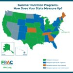 State Map of Summer Nutrition Programs